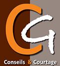 logo gc conseils et courtage courtier assurance